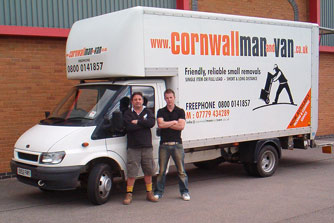 Cornwall Man and Van - an established family run business you can trust.